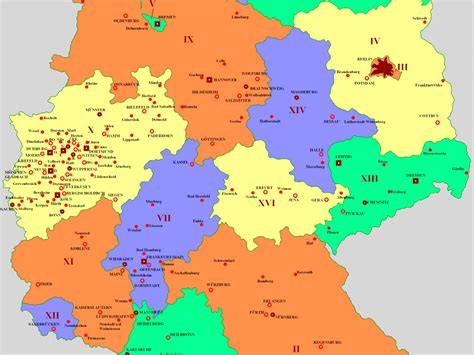 germany map with cities map of germany with cities in major