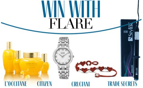 Canada Contests And Giveaways - win with flare canada giveaway contest win over 1000 in prizes including a 475