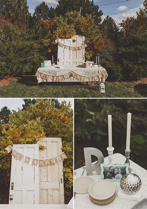 Fall Backyard Wedding Ideas Fall Wedding Backyard Fall Wedding 2064904 Weddbook
