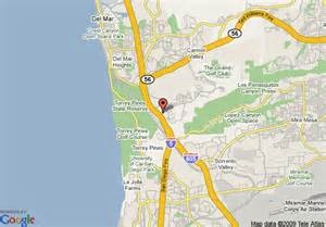 map of mar california map of homewood suites by san diego mar ca