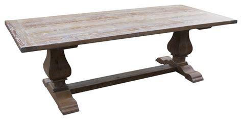 douglas fir dining table segovia reclaimed douglas fir dining table farmhouse