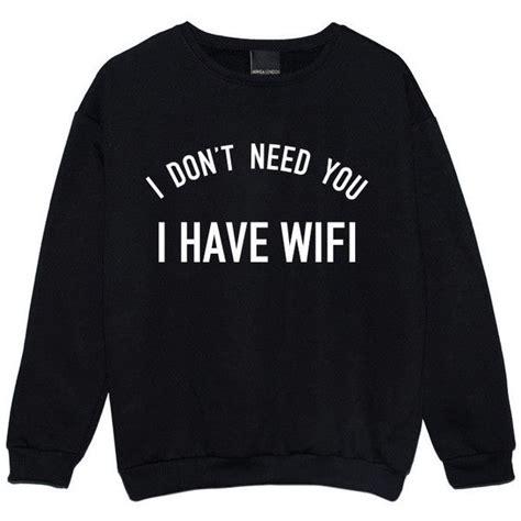 Wifi Jumper i wifi sweater jumper womens swag grunge kale new