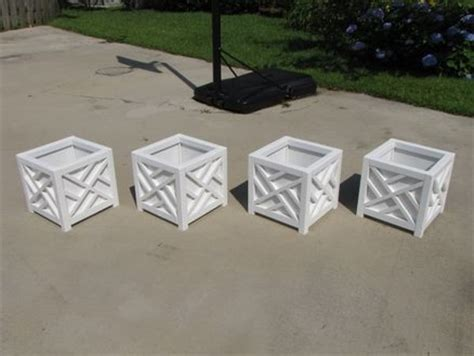 Chippendale Planters by Chippendale Planter Boxes By Rangertracy Lumberjocks