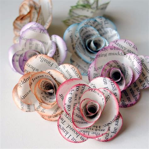 paper craft ideas for teenagers 75 cool diy projects for teenagers paper roses