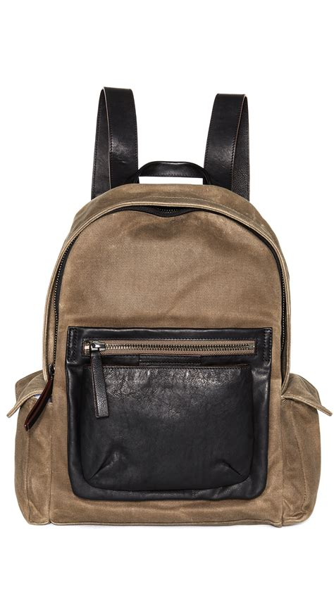 Marc By Marc Exclusive Canvas Backpack by Marc By Marc Canvas Backpack In For Lyst