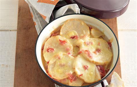 ricette sedano cotto ricetta tegame di sedano rapa fontina e prosciutto le