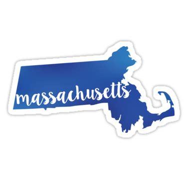 Mass State Sticker
