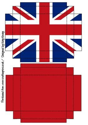 How To Make A Big Paper Box - jubilee union gift box with lid white blue