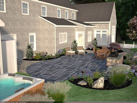 south shore bluestone patio landscaping network