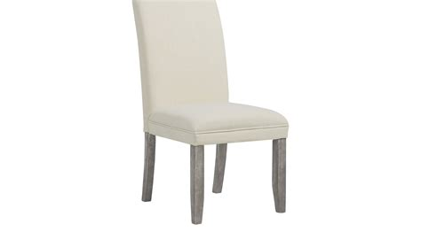 Chair Legs by Tulip Chalk Side Chair With Gray Legs Upholstered
