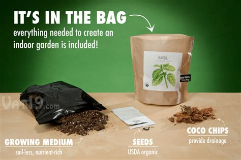 Garden In A Bag by Garden In A Bag Grow Your Own Culinary Herbs Indoors