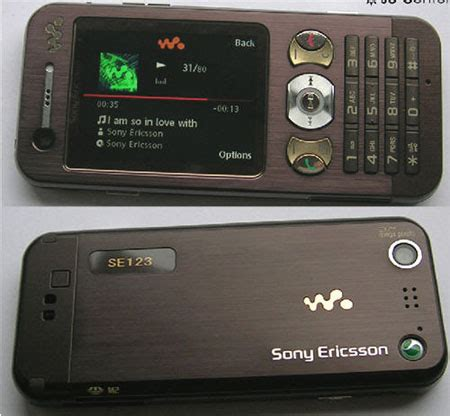 w890i ponsel walkman anyar sony ericsson inside it