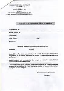 consulat mariage franco marocain