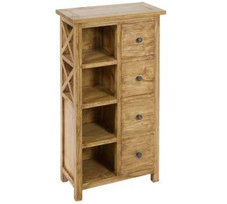 estanterias en madera free estantera de roble blanca an