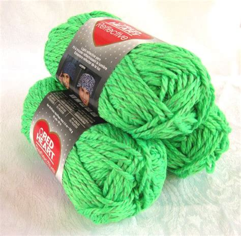 neon yarn for knitting reflective yarn bright neon green bulky by
