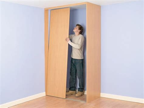 Building A Closet In A Corner by How To Build A Closet Into The Corner Of A Room