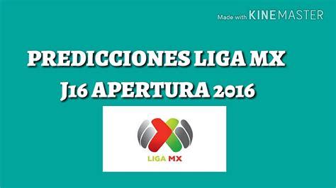 predicciones jornada 13 liga mx apertura 2015 jornada 7 apertura 2016predicciones predicciones liga mx