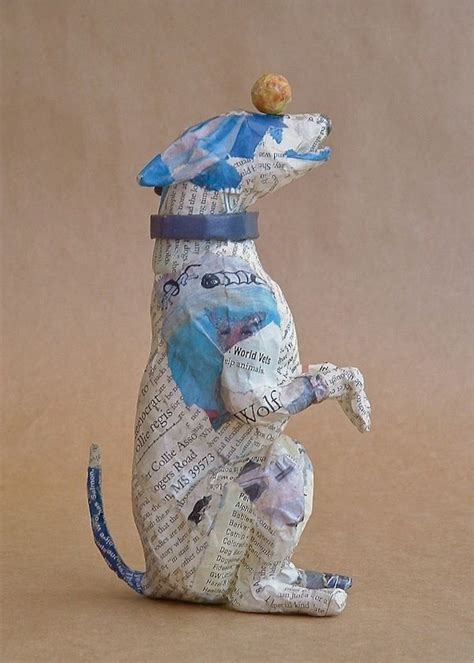 How To Make Paper Mache Sculptures - best 25 paper mache sculpture ideas on paper