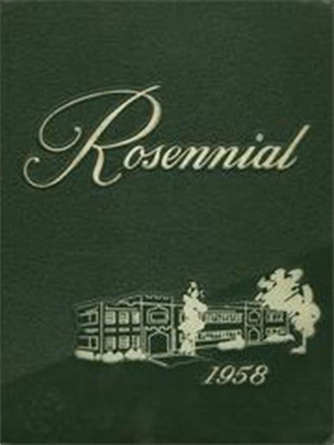 New Castle Chrysler High School by New Castle Chrysler High School Rosennial Yearbook New