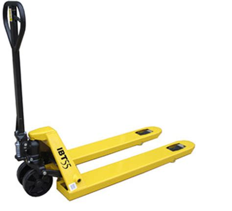 Entry Level Forklift by Ibt55 Quot Entry Level Quot Pallet Truck Mobile Industries Inc Material Handling Tranport Lift