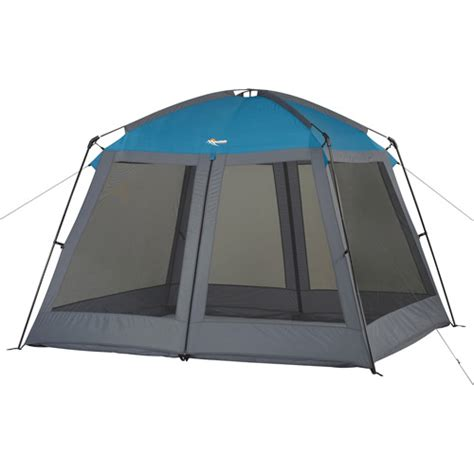 Screen House Tent by Wenzel Mountain Trails Sentinel 9 X 8 Screen House Blue