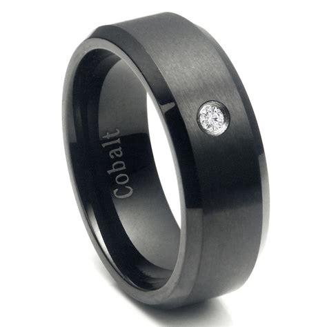 Mens Wedding Bands Tungsten Vs Titanium Cobalt ? Mini Bridal