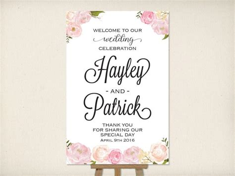 wedding ceremony welcome sign wedding welcome sign large mounted wedding poster