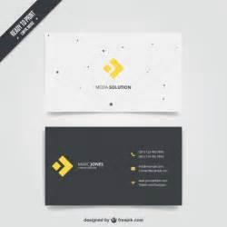 free sle business card 50 plantillas para tarjetas de presentacion taringa
