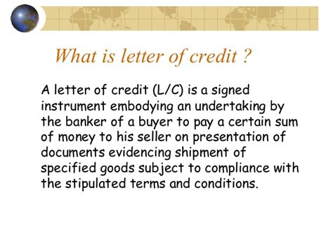 Letter Of Credit Bangladesh Bank Letter Of Credit