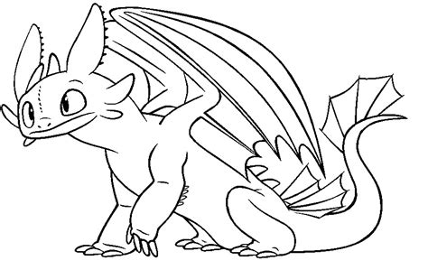 coloring pages toothless dragon how to train your dragon pictures of toothless az