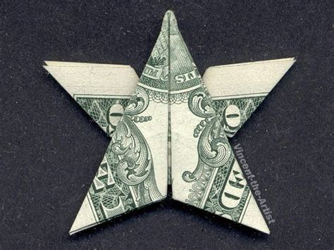 How To Make Origami With A Dollar - money origami money and dollar bills on