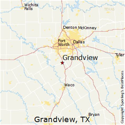 grandview texas map best places to live in grandview texas