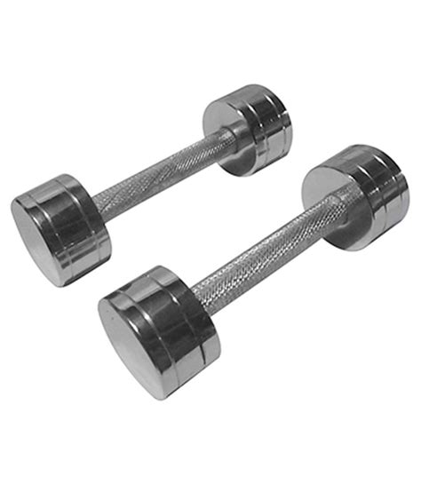 Dumble Fitnes Shubhras Steel Dumble Buy At Best Price On Snapdeal