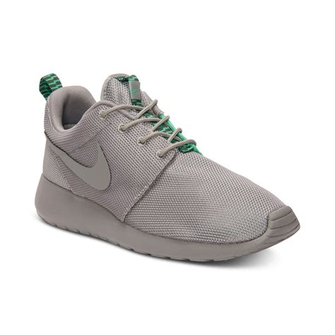 Sale Nike Roshe Run New Casual Pria Sneakers Diskon Terbaru nike roshe run casual sneakers in gray for mn grey
