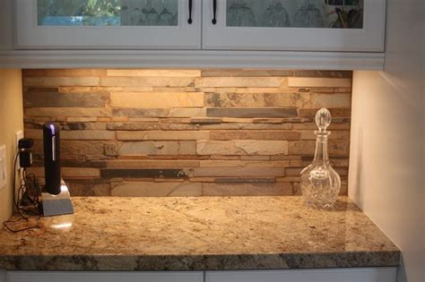 stacked stone kitchen backsplash pinterest discover and save creative ideas
