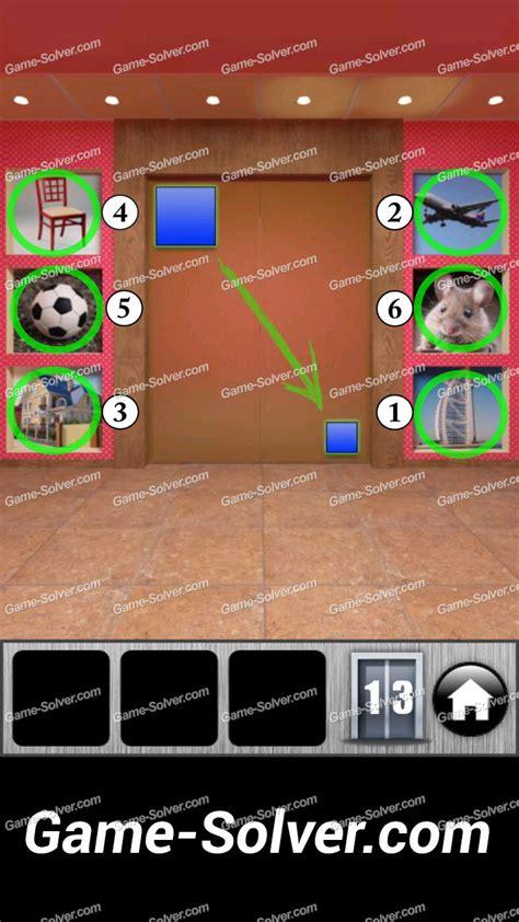 100doors lvl 4 100 doors runaway level 13 game solver