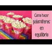 Decoraci&243n De Fiestas Infantiles Caja Cucurucho Palomitas En