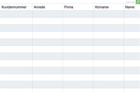 Kostenlose Vorlage Telefonliste Kundenverwaltung Kostenlose Excel Vorlage Zum Everbill Magazin