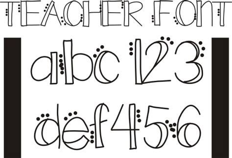 easy printable fonts 26 free fonts for teachers teach junkie