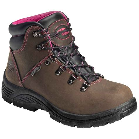 womans steel toe boots avenger a7125 s steel toe work boot