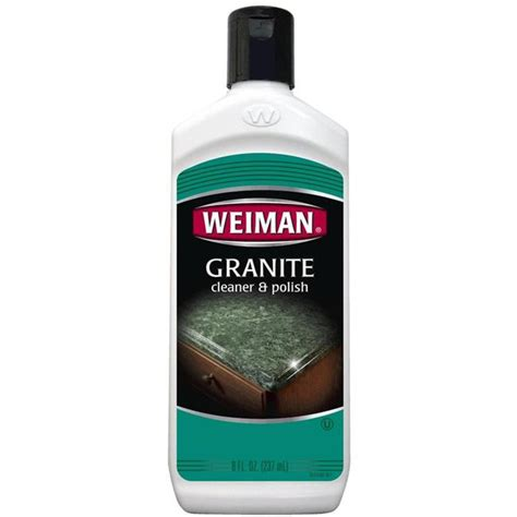 Best Cleaner For Corian Weiman Granite Marble Solid Surface Countertop Cleaner 8oz Ebay