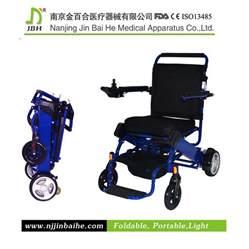 fauteuil roulant 233 lectrique pliable en aluminium l 233 ger de