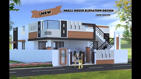 beautiful small house front elevation design  ground floor elevation ideas  home