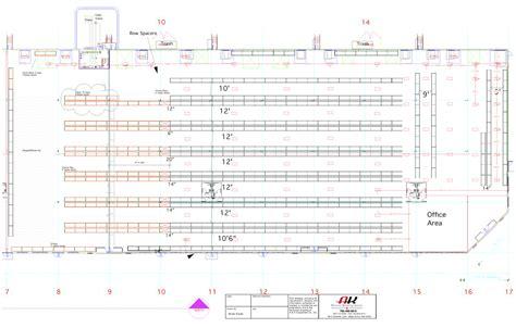 warehouse layout and design utilizing professional warehouse layout and design