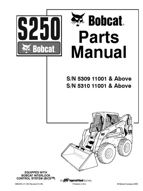 bobcat s250 parts list wiring diagrams wiring diagram