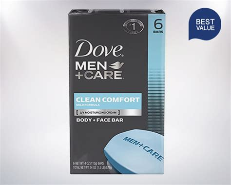 dove clean comfort bar soap dove men care clean comfort body and face bar best bar