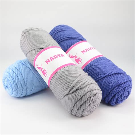 Benang Rajut Series Grey benang rajut nadya medium worsted ply besar crafts