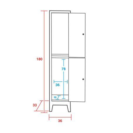 dimensioni armadietti spogliatoio armadietto spogliatoio sovrapposto 2 vani cm