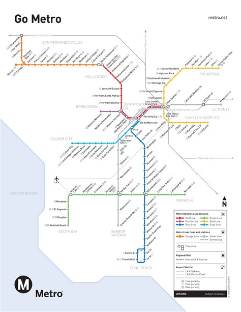 los angeles subway map metro map of los angeles critical commons