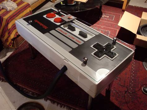 Nes Controller Coffee Table A Functional Nintendo Nes Controller Coffee Table Bit Rebels